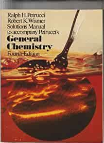 Petrucci General Chemistry Solutions Manual