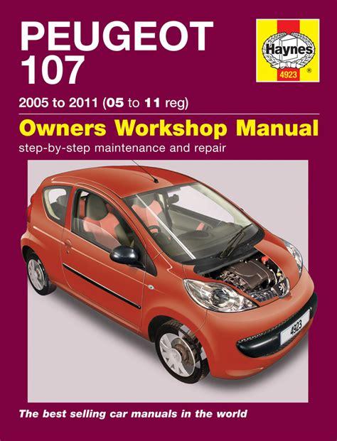 Peugeot 107 Haynes Manual