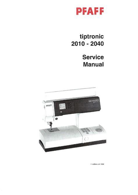 Pfaff 2048 Repair Manuals