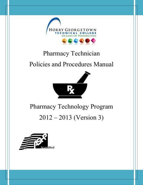 Pharmacy Housekeeping Policy And Procedure Manual