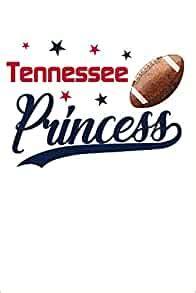 Philadelphia Princess Football Blank Lined Journal Notebook Diary 6x9