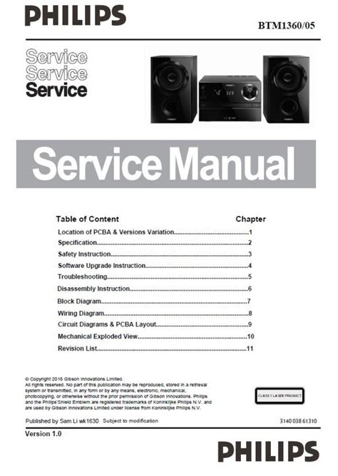 Philips 37pfl4007t Service Manual And Repair Guide