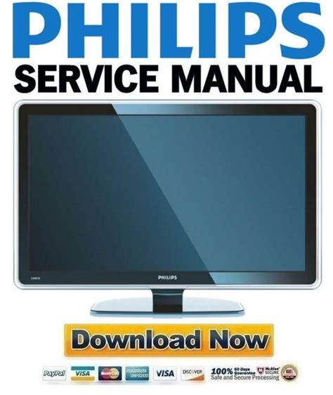 Philips 37pfl9603d 37pfl9603h Service Manual Repair Guide