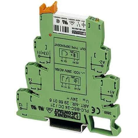 Phönix Contact PLC-BSC-24DC//21 Grundklemme 2966016 Klemme