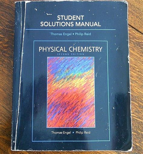 Physical Chemistry Solutions Manual Engel