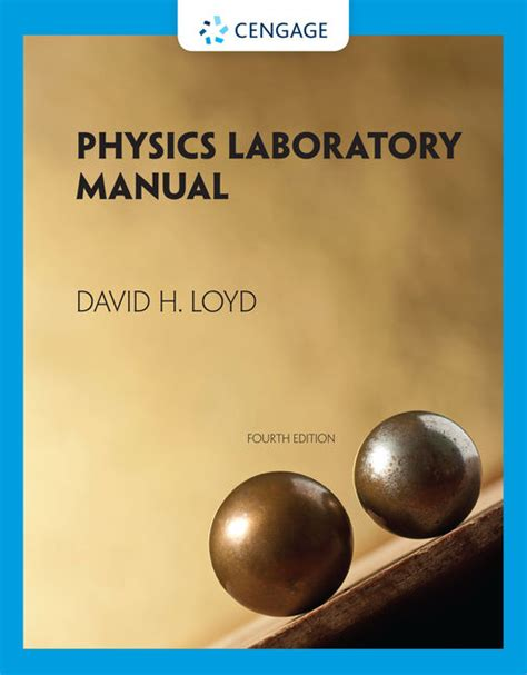 Physics Lab Manual David Loyd