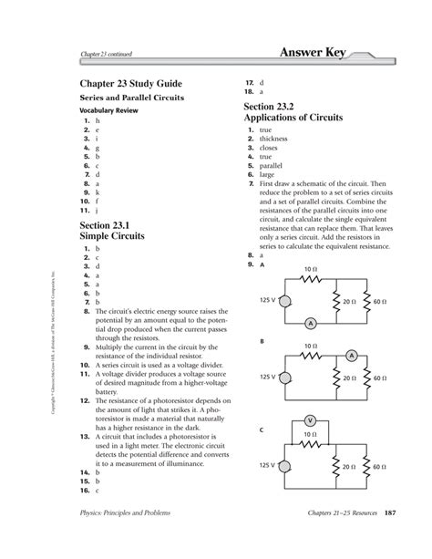 Physics Principles Problems Chapter 12 Study Guide Answer Key