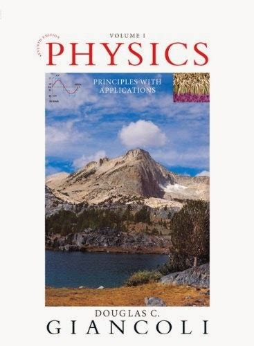 Physics Principles With Applications 7th Edition Solution Manual
