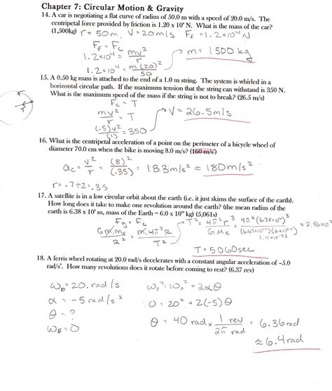 Physics Study Guide Representing Motion Answers
