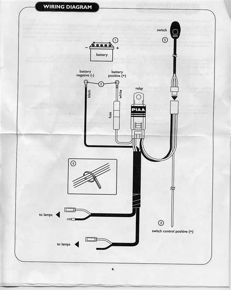 Piaa Lights Wiring Diagram Schematic