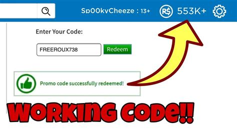 5 Secret Of Pin Code Robux