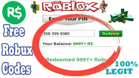 The Ultimate Guide To Pin Robux Codes
