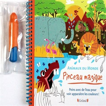 Pinceau Magique Animaux Du Monde