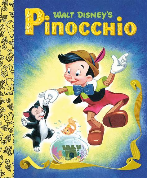 Pinocchio Disney Classic Little Golden Books