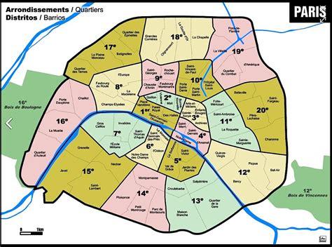 Plan Paris Par Arrondissement Spiral