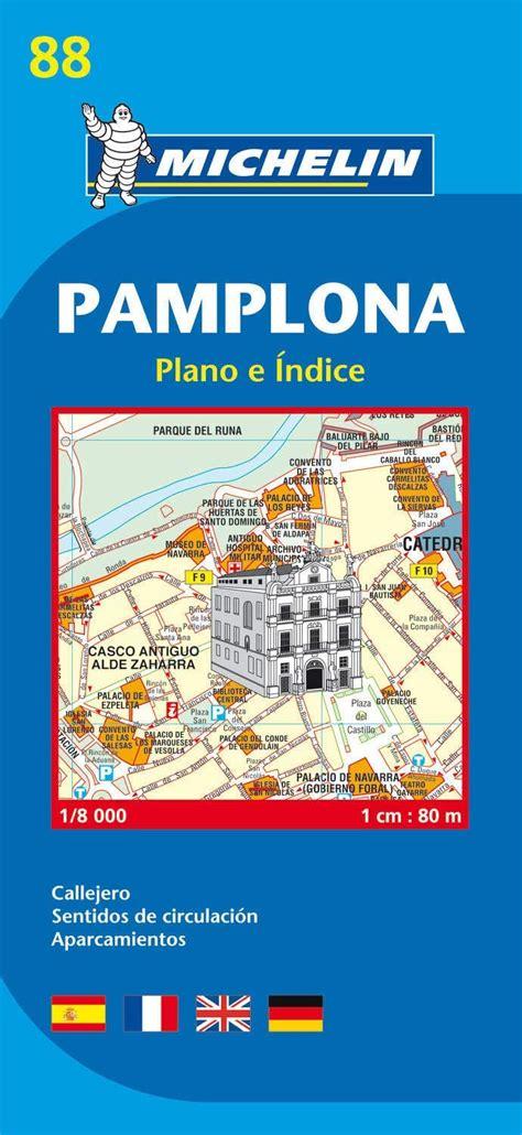 Plano Plegable Pamplona Plano E Indice Plano E Indice Planos Michelin