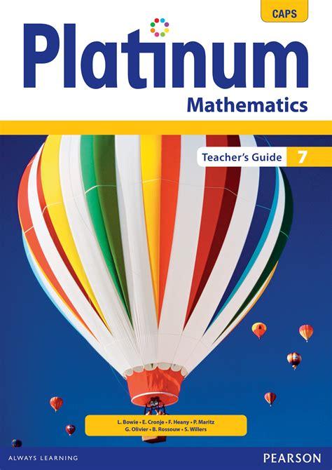 Platinum Teachers Guide Grade 7 Mathematics