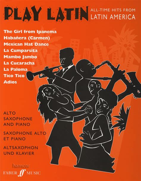 Play Latin: (Alto Saxophone and Piano) (Alto Saxophone Piano) (Faber Edition: Play Latin)