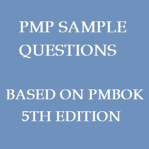 Pmp 5th Edition Questions And Answers