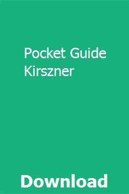 Pocket Guide Kirszner