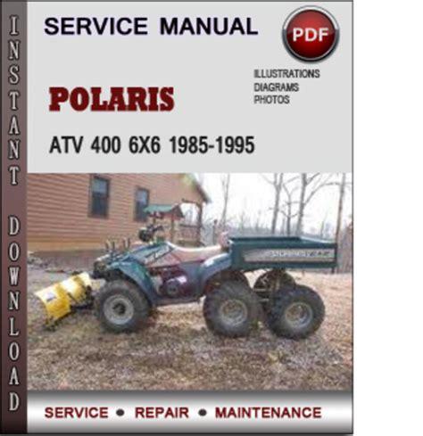 Polaris 6x6 400 Manual