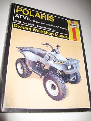 Polaris Atv 350 800cc Models Service Repair Manual 1996 1998