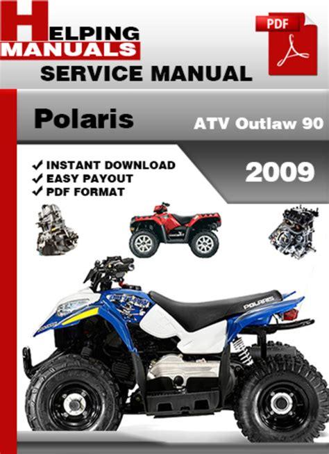 Polaris Outlaw 90 Atv Service Manual