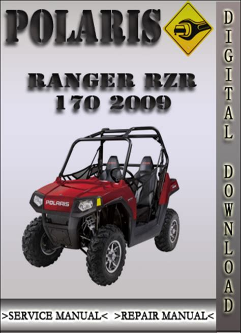 Polaris Ranger Rzr 170 Service Repair Manual 2009