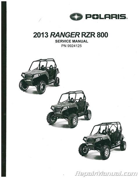 Polaris Ranger Rzr 800 Service Manual