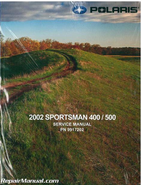 Polaris Sportsman 400 2002 Factory Service Repair Manual