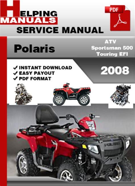 Polaris Sportsman 500 Touring Service Manual