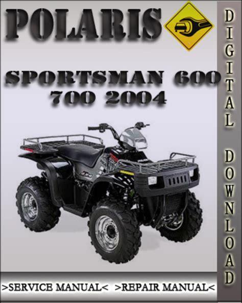 Polaris Sportsman 700 2004 Factory Service Repair Manual