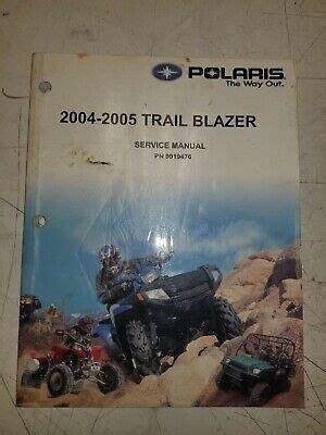 Polaris Trail Blazer Owners Manual 2004