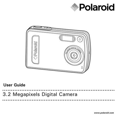 Polaroid A300 Digital Camera Manual