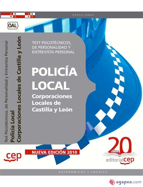 Policia Local Test Psicotecnicos De Personalidad Y Entrevista Personal