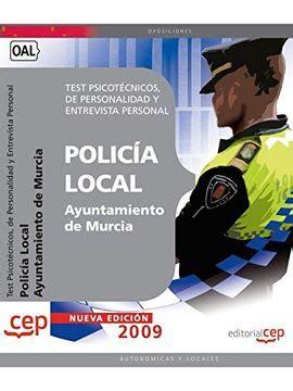 Policia Local Test Psicotecnicos De Personalidad Y Entrevista Personal Oposiciones