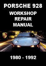Porsche 928 Gts Workshop Manual