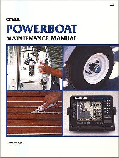 Power Boat Repair Guide