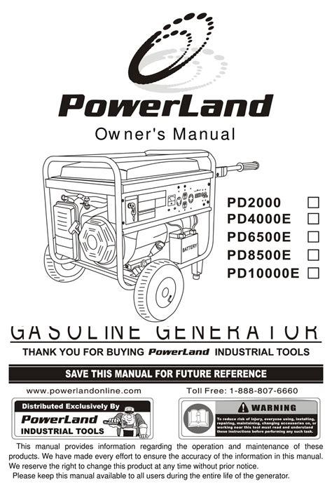 Powerland Manual