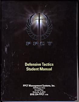 Ppct Defensive Tactics Student Manual