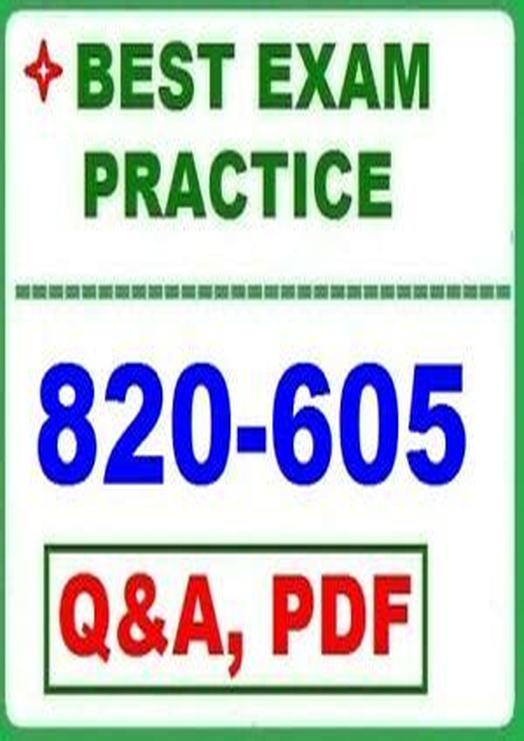 Practice 820-605 Exams