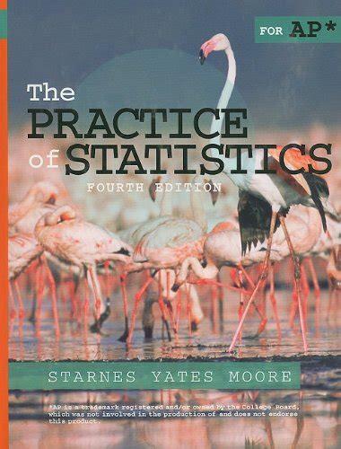 Practice Of Statistics 4th Edition