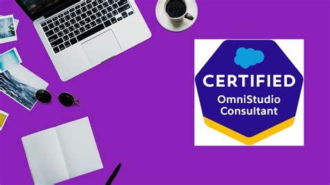 Practice OmniStudio-Consultant Tests