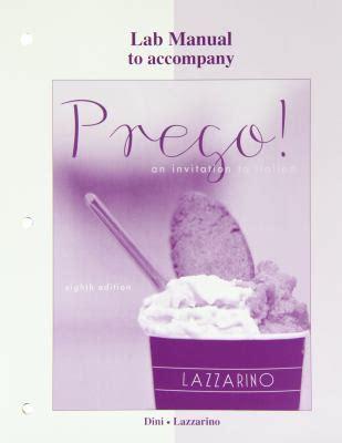 Prego 8th Edition Workbook Laboratory Manual