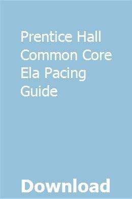 Prentice Hall Algebra Pacing Guide Ohio