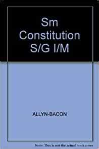 Prentice Hall Constitution Study Guide Teacher