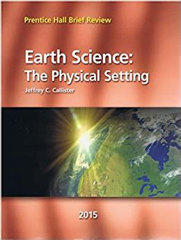 Prentice Hall Earth Science Review Answer Key