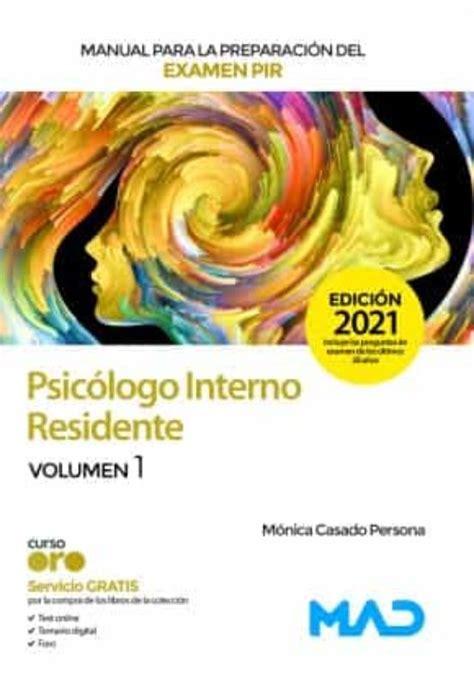 Preparación PIR, Psicólogo Interno Residente: Diseños experimentales, estadística y psicometría: 8