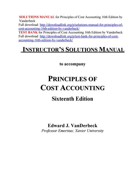 Principles Of Accounting 21st Edition Solutions Manual