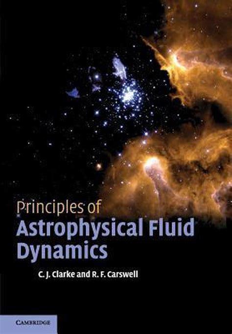 Principles Of Astrophysical Fluid Dynamics Solutions Manual